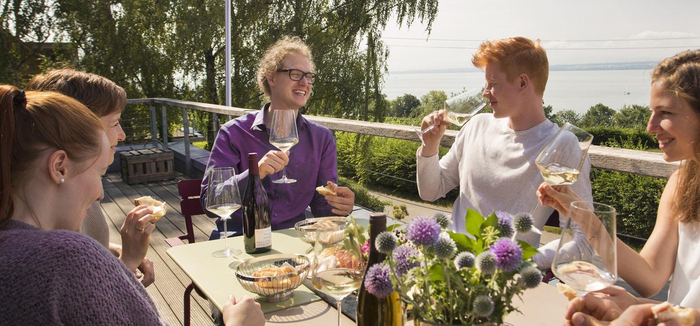 Titelbild Weinprobe zuhause